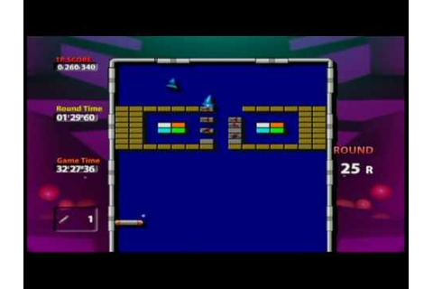 Arkanoid Plus! - Wii Ware P4 - YouTube