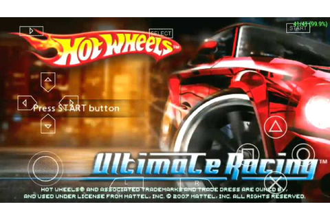 (PSP) Hot Wheels Ultimate Racing Full Game Ultra ...