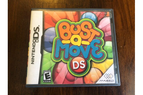 Bust a Move, printed copy cover, Nintendo DS game, no ...