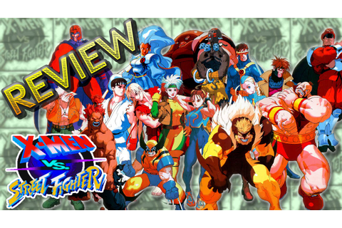 X Men vs. Street Fighter - Review do Crossover da Capcom ...