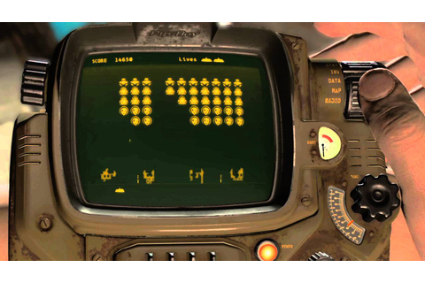 Fallout 4 - Space Invaders Inspired Game Zeta Invaders ...