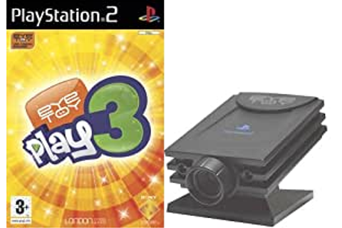 EyeToy Play 3 with Camera (PS2): Eyetoy: Play 3: Amazon.co ...