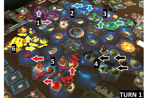 Our first Twilight Imperium session... | Twilight Imperium ...