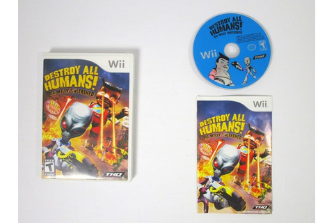 Destroy All Humans Big Willy Unleashed game for Wii ...