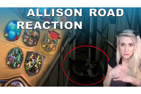 Allison Road Horror Game Trailer Reaction and Hearthstone ...