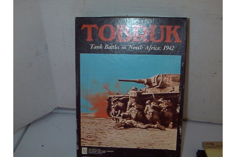 Military Board Game of Tobruk by WhiteEnterprises on Etsy