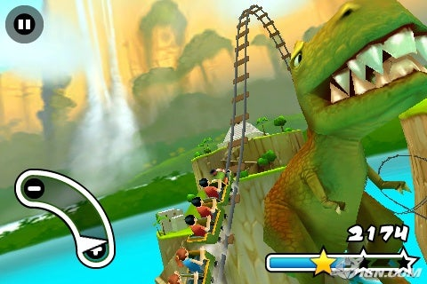 Jurassic 3D Rollercoaster Rush Preview - IGN