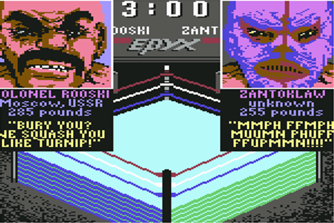 Download Championship Wrestling (Apple II) - My Abandonware