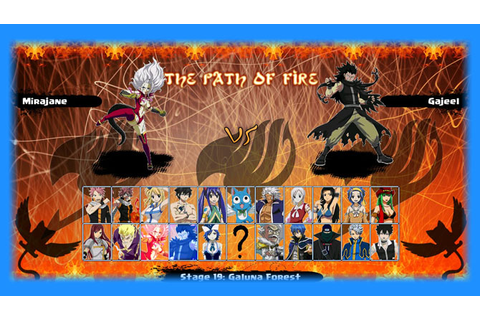 Fairy Tail: The Path Of Fire - Mugen Download | GO GO Free ...