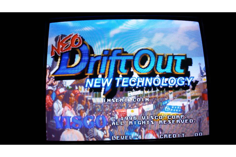 Intro NeoGeo - Neo Drift Out New Technology (US,7/26/96 ...