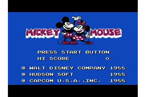 Mickey Mousecapade - NES Gameplay - YouTube