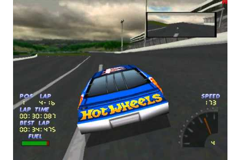 Lets play PS1 games NASCAR 98 part 2 - YouTube