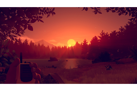 Firewatch Game Sunset, HD Games, 4k Wallpapers, Images ...