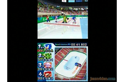 Gameplay Mario & Sonic aux Jeux Olympiques d'Hiver : Short ...