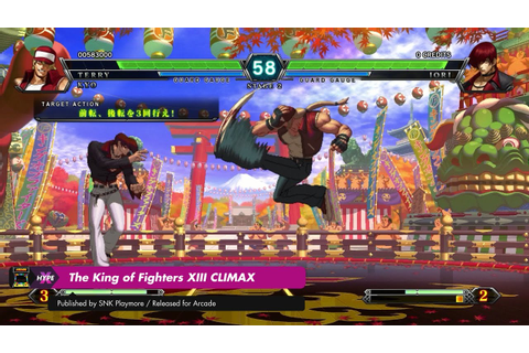 Arcade: The King of Fighters XIII CLIMAX (Taito Type X2 ...