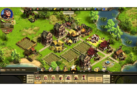 The Settlers Online Trailer HD - YouTube