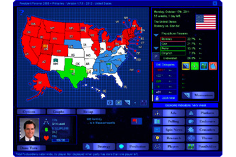 2012 Beta scenario for President Forever 2008 + Primaries ...