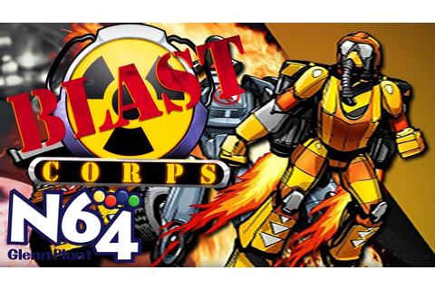 Blast Corps - Nintendo 64 Review - HD - YouTube