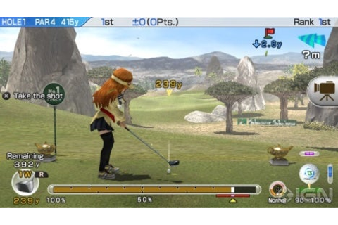 Hot Shots Golf: World Invitational Review - IGN