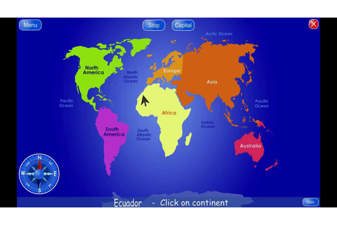 Geo4Kids - world atlas and geography quiz for kids - YouTube