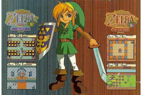 Link - Oracle of Ages and Oracle of Seasons Legend of ...