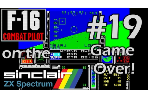 F-16 Combat Pilot (ZX Spectrum) 19 - Game Summary - YouTube