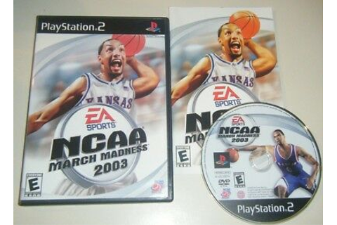 NCAA March Madness 2003 COMPLETE GAME - Playstation 2 PS2 ...