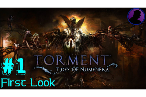 First Look - Torment Tides Of Numenera - Game Over Man ...