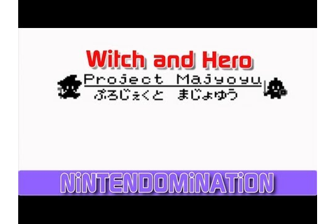 3DS Review: Witch and Hero; an amazingly simple game | D-Pad