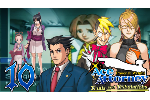 Phoenix Wright: Trials and Tribulations - Capitulo 10: Ron ...