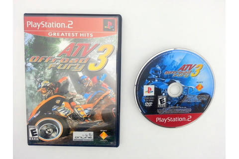 ATV Offroad Fury 3 game for Sony Playstation 2 PS2 -Game ...