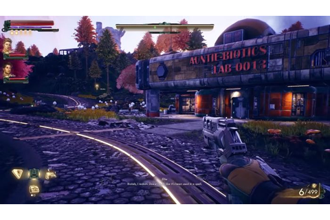 Check Out 14 Minutes of Outer Worlds Gameplay - MMORPG.com