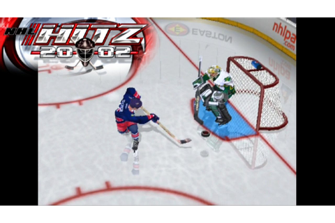 NHL Hitz 2002 ... (PS2) - YouTube