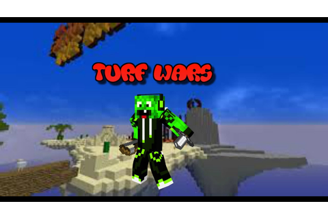 Minecraft Mini-Game : Turf Wars - YouTube