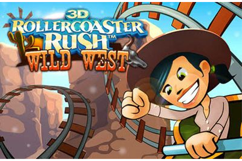 Wild West 3D Rollercoaster Rush iPhone game - free ...