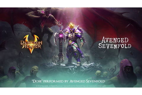 "Dungeon Hunter 5 - Avenged Sevenfold - ""Dose"" trailer ..."