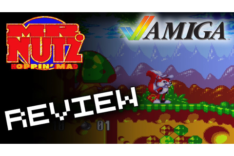 Mr Nutz: Hoppin' Mad - Commodore Amiga Game Review | How ...