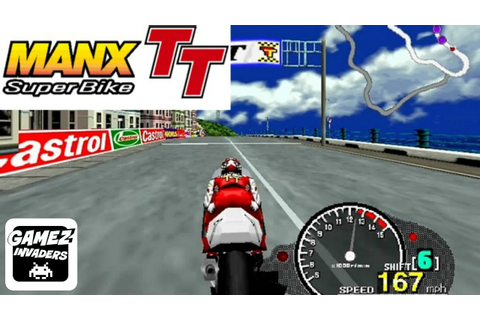 Sega's Manx TT Superbike Arcade Racing Game - YouTube