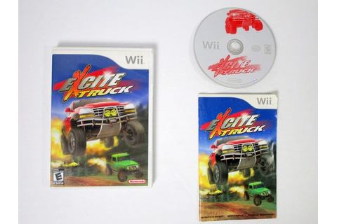 Excite Truck game for Wii (Complete) | The Game Guy
