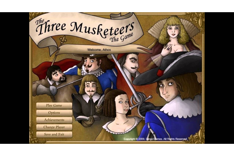 The Three Musketeers The Game PC 2009 Gameplay - YouTube