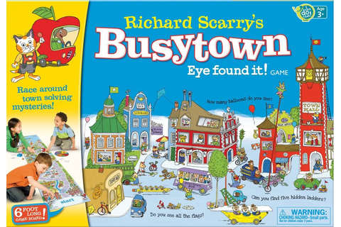 Richard Scarry's Busytown: Eye found it! Game | Board Game ...