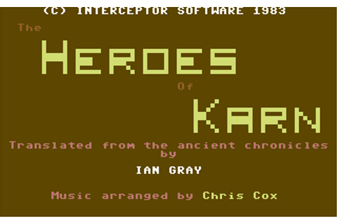 Download Heroes of Karn - My Abandonware