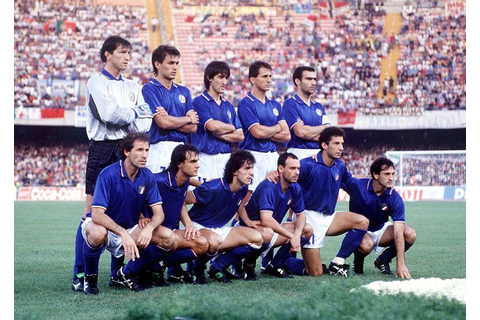 Italia '90 : the year I fell in love with the Azzuri ...