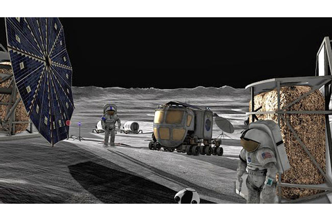 NASA Moon Base (page 2) - Pics about space