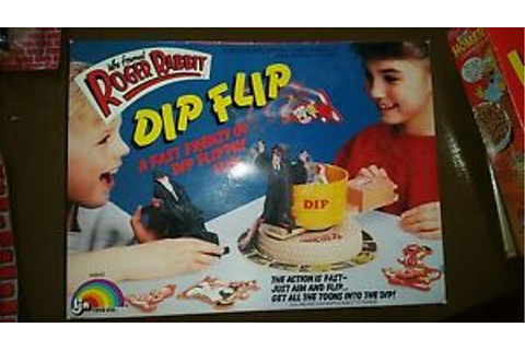 1988 Who Framed Roger Rabbit Dip Flip Game By LJN Toys LTD ...
