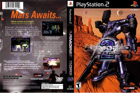 Armored Core 2 Ps2* - $ 250.00 en Mercado Libre