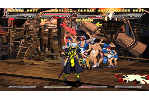 Guilty Gear Isuka PS2 ISO Download