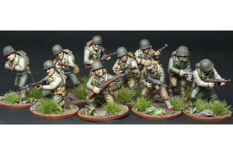 Bolt Action 28mm US Infantry Warlord Games | Hobbies ...