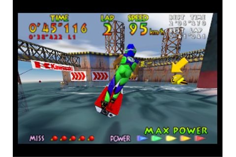 Play Nintendo 64 Wave Race 64 (USA) Online in your browser ...