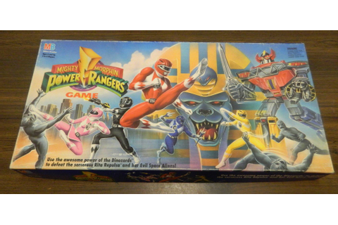 Mighty Morphin Power Rangers Game Board Game Review and ...